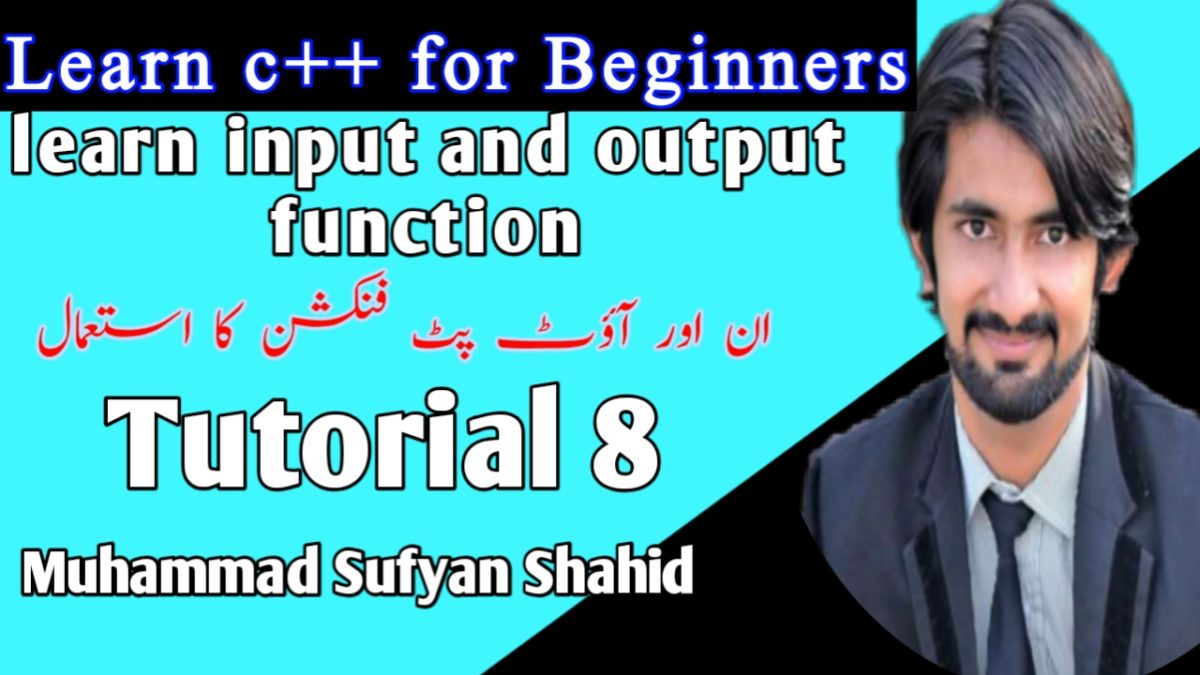 Tutorial 8 by sufyan shahid