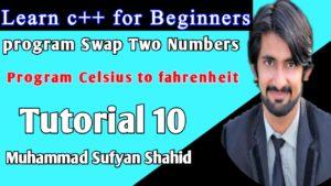 learn c++ Tutorial 10