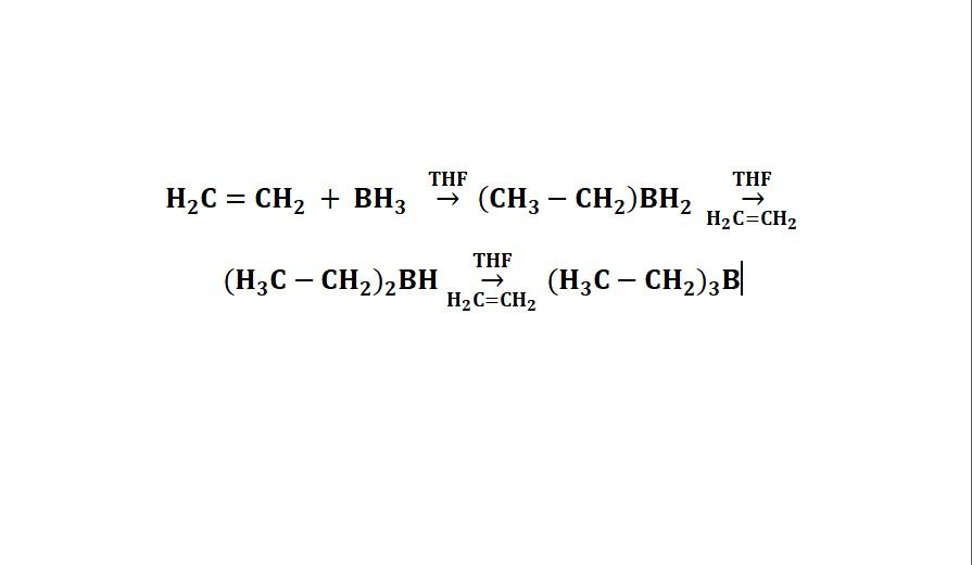 Trialkyl or triaryl boranes preparation