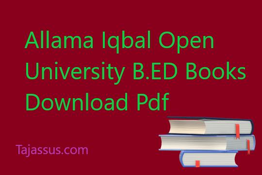 0513/SCHOOL ORGANIZATION AIOU B.ED Book download pdf