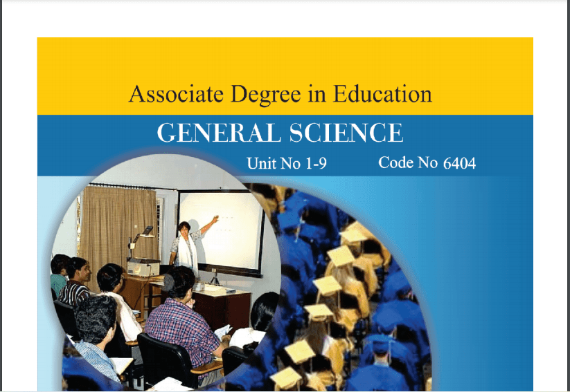 6404/GENERAL SCIENCE AIOU B.ED Book Download