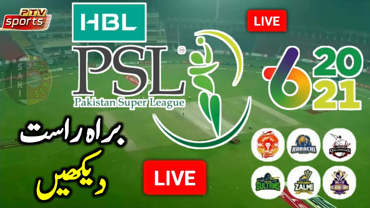 PSL live streaming 2021 Free