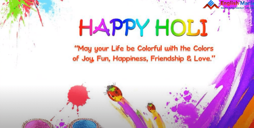 Holi Greetings WhatsApp Status