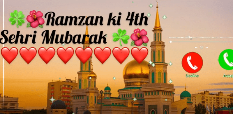 Ramzan 4th sehri status Download Free