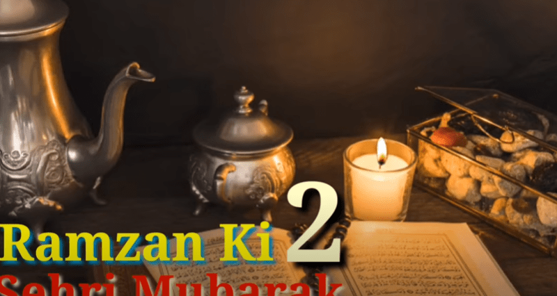 Special 2nd Sehri Status Download Free