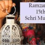 Best 15 Sehri ki Mubarak ho Status Video Download