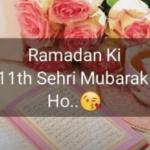 11th Sehri Mubarak Status Download Free