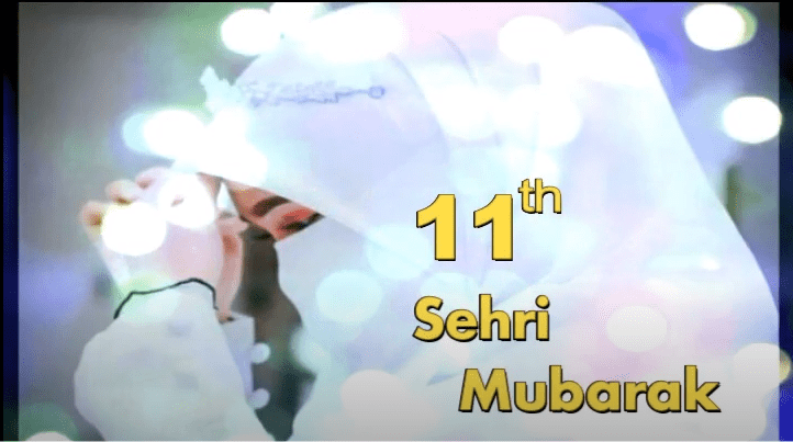 11th Sehri Mubarak Status Download Free
