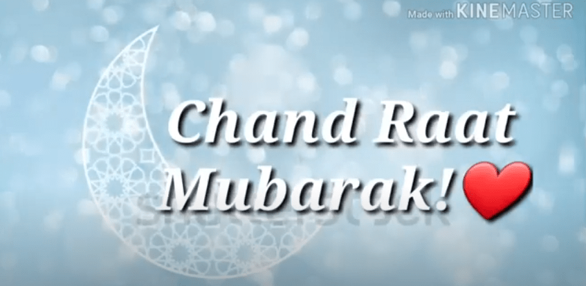 New Chand Raat Mubarak Status Video