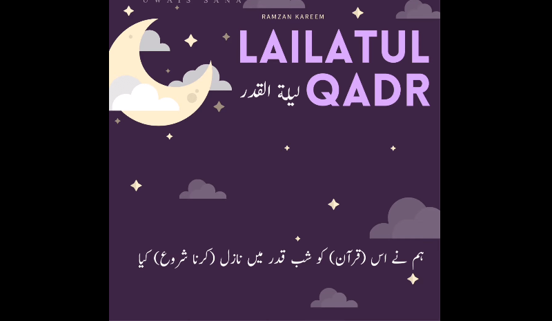Beautiful Recitation of Surah Qadr with Urdu translation Qadar status