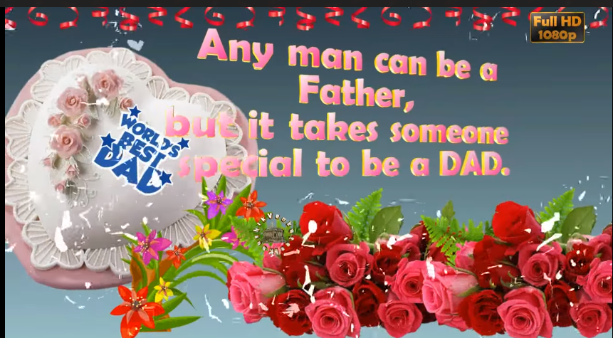 Father's Day Greetings, Animation, Messages, Quotes, Status Download
