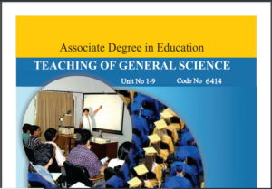 6414/TEACHING OF GENERAL SCIENCE AIOU B.ED Book Download