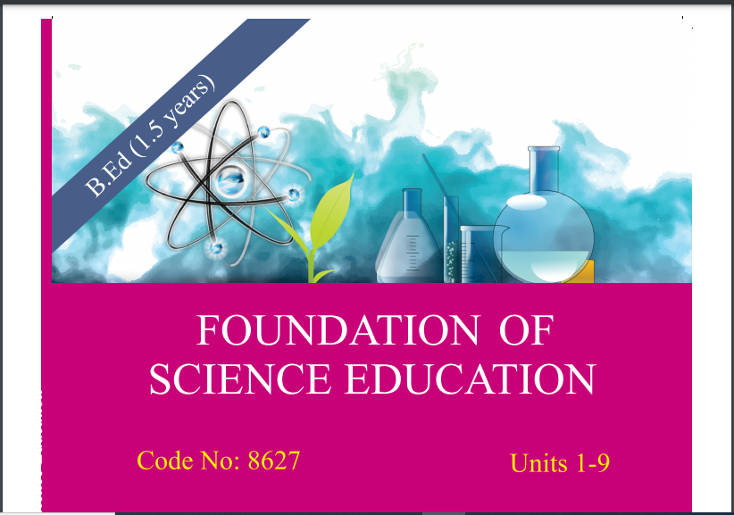 6435/FOUNDATION OF SCIENCE EDUCATION AIOU B.ED Book Download