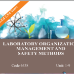 6438/LABORATORY ORGANIZATION,MANAGEMENT AND SAFETY METHODS AIOU B.ED Book Download