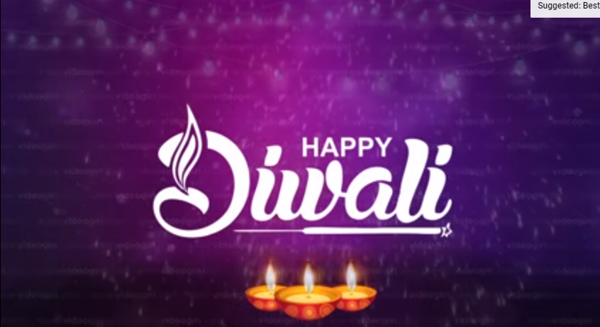 Happy Diwali 2021 Wishes Video Free Download